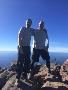 Travis and Wes who shared the experience with me at the top!
