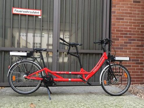 Tandem Pedalpower Deep Detachable nachträglich elektrifiziert