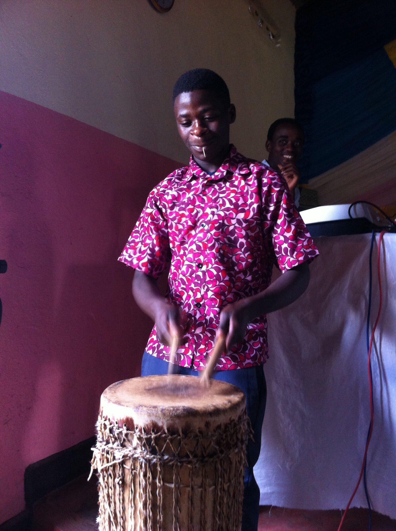 Drumming Friends church