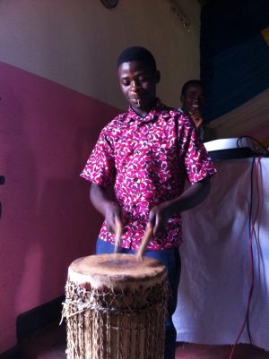 Drumming Friends church