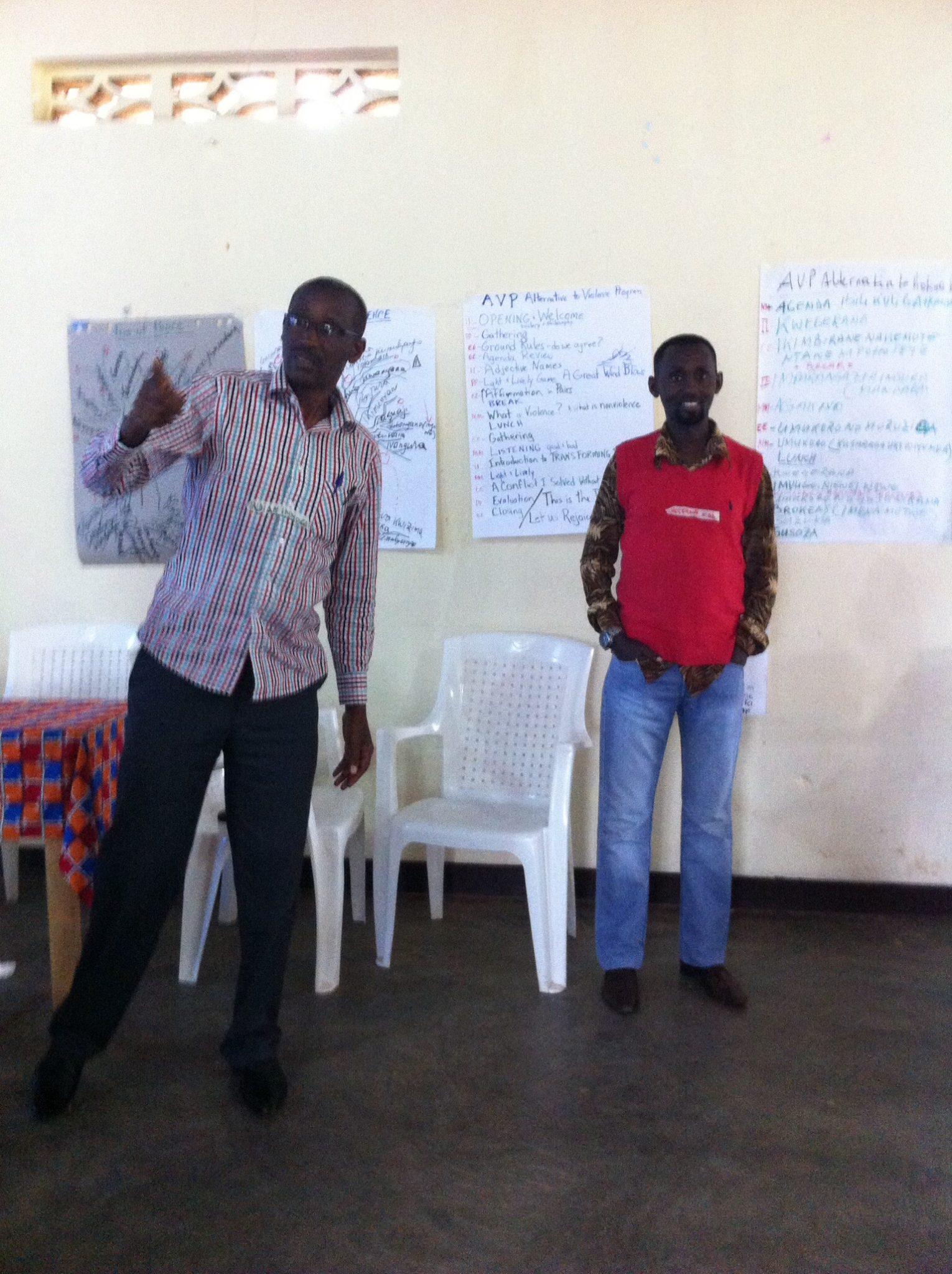 Innocent & Eddy facilitating AVP