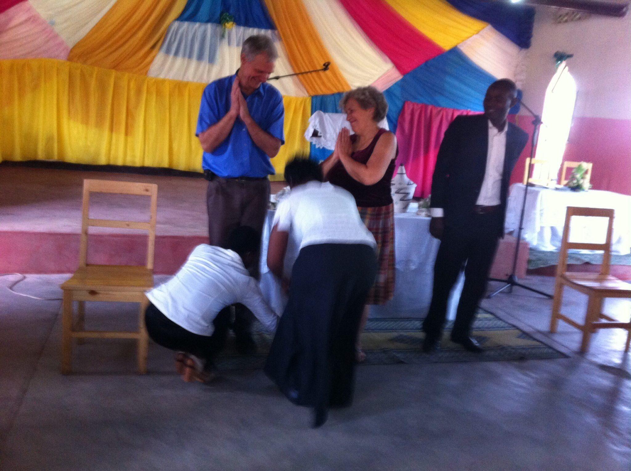 Foot washing Nyamagumba