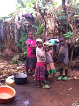 Family backyard Burera