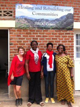 HROC training with Rwandans, Kenyans, Burundi, & American
