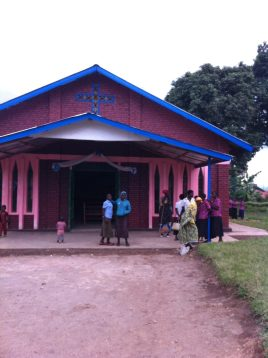 Nyamagumba church