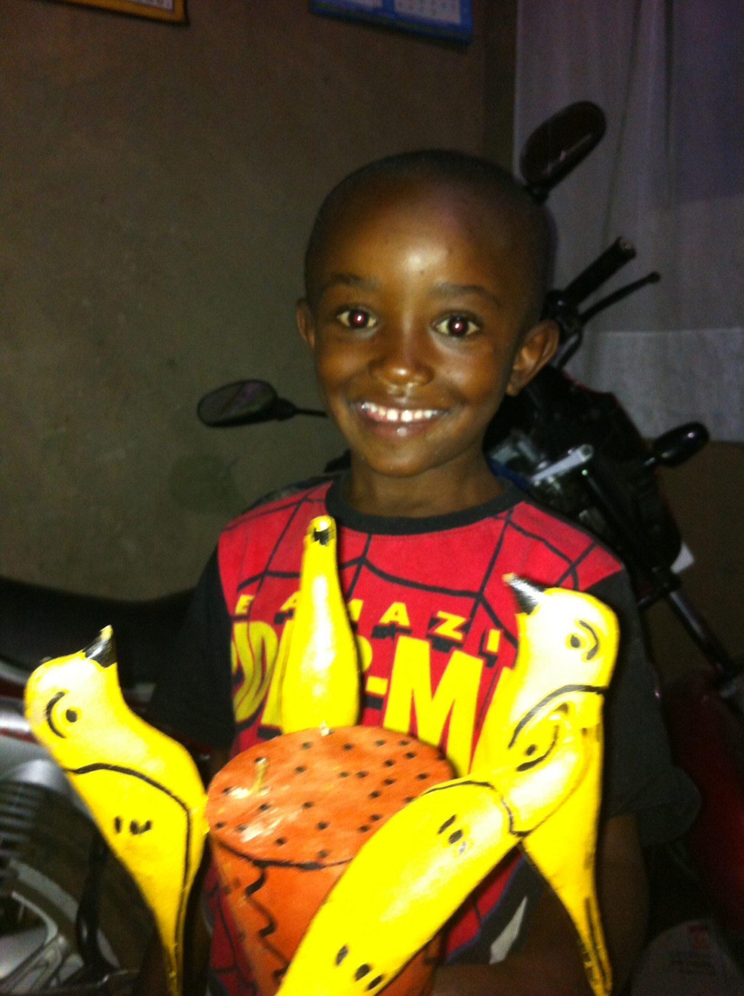 Boy in Musanze