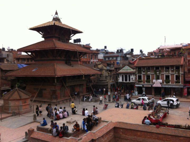 Pattan Durber (Palace) Square, south of Kathmandu