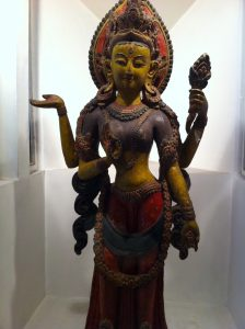 Laxmi, different hands signify subtle attributes