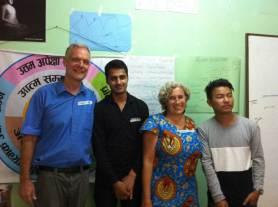 AVP Graduation with Pradip and Binot