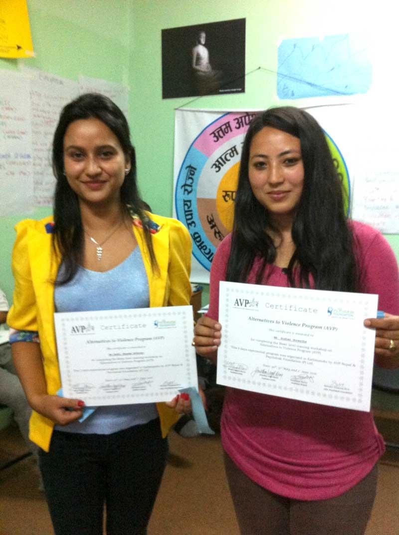 Suhsen and Sussi graduate