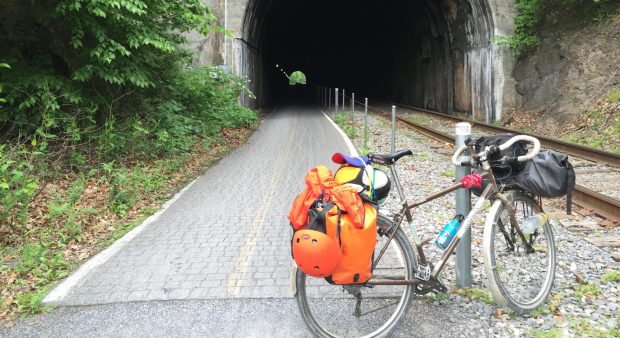 bike touring lessons with mysterious james