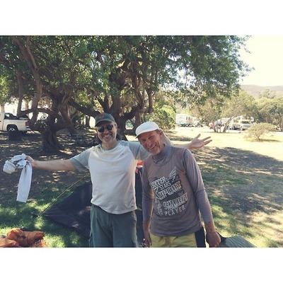 Tim and Hugo