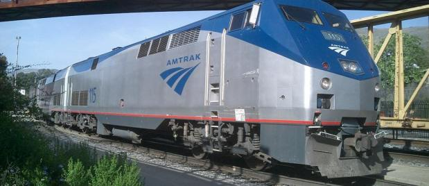 Amtrak train