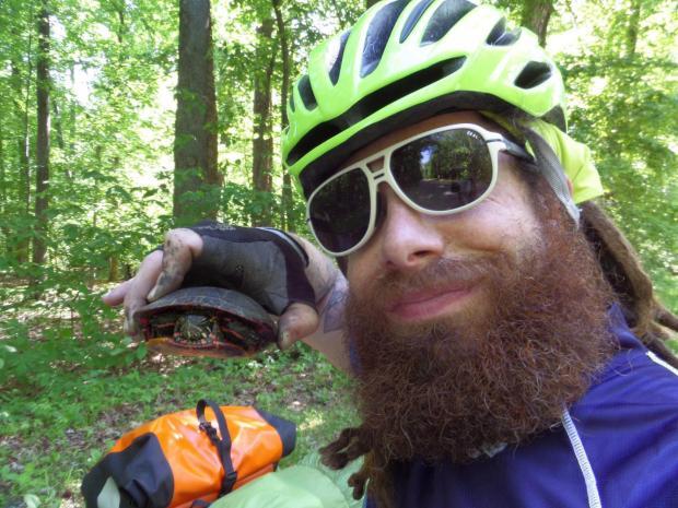Jesse the pedaling yeti
