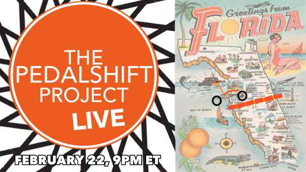 Pedalshift Live Feb 22 9pm ET