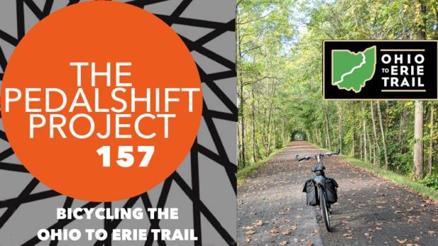 Pedalshift Project 157 - bicycling the ohio to erie trail