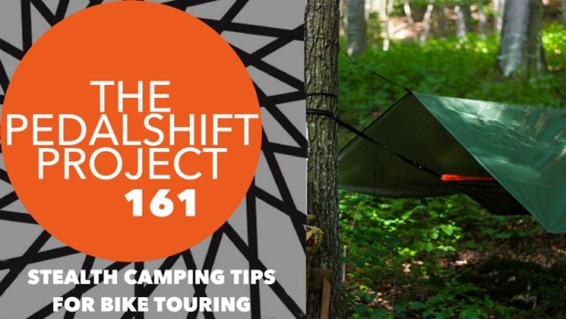 Pedalshift 161 Stealth Camping