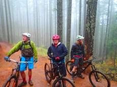 Wet, a bit muddy, but the stoke level was near critical mass.