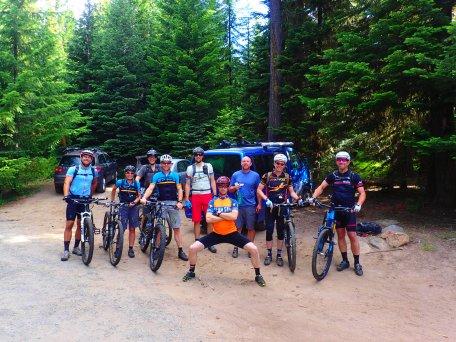 The Mt. Hood Endurance Classic group.