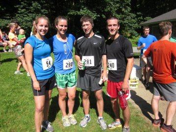 A group shot from the Wildwood Half-Marathon