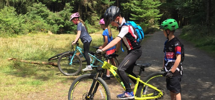 Pedal To Progression Children's Camps MTB Grading
