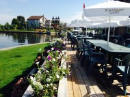Cafe by the water ...