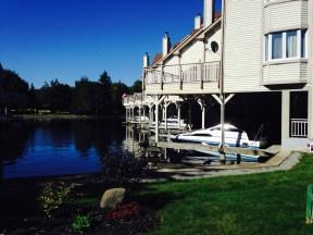 Condo living on the lake ...