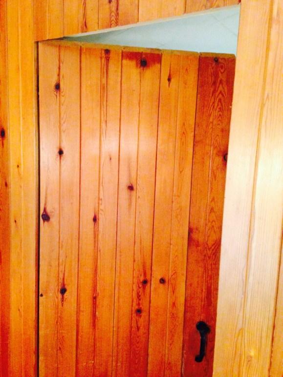 Bedroom door - open
