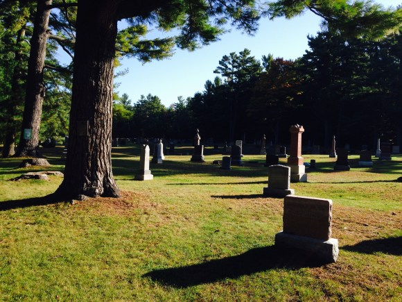 Bolsover cemetery ...