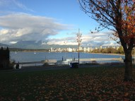 On the way back from UBC along the waterfront