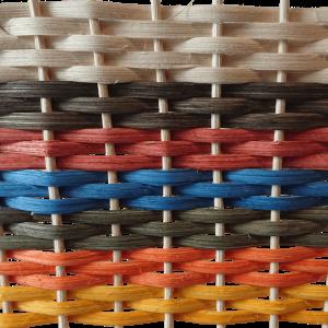 Peddigschiene - Peddig Schiene natur & farbig