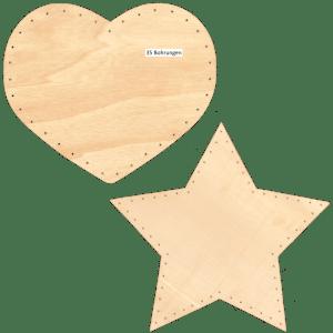 Korbflechtboden Sperrholz Formen