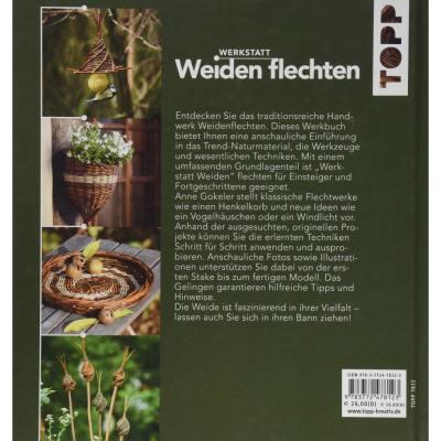 Topp 7812 Buch Cover Rückseite Weiden flechten