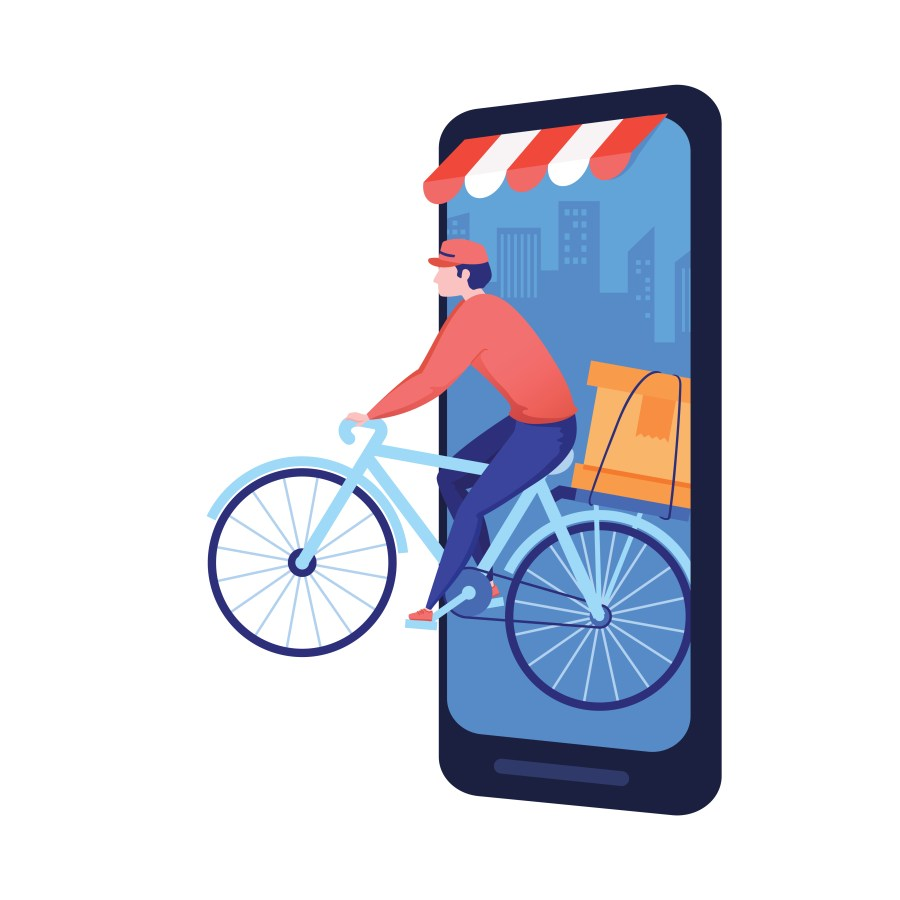 Get faster same-day home delivery from the trusted local stores on the Peddle Plus Online Shopping App.