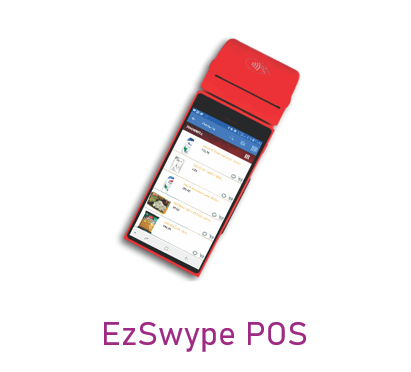 Can be used in EzSwype POS device