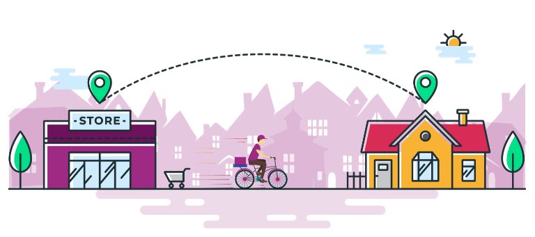 Peddle Plus Billing Software helps local retailers to sell online and offer home delivery