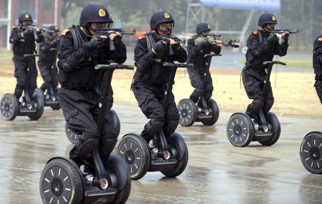 Segway to the Chinese Paramilitary