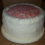 Red Velvet Coconut Love Cake