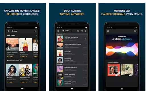 Audible Bible app