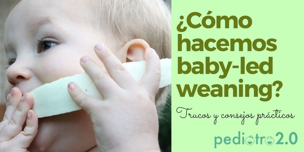 trucos para hacer baby-led weaning