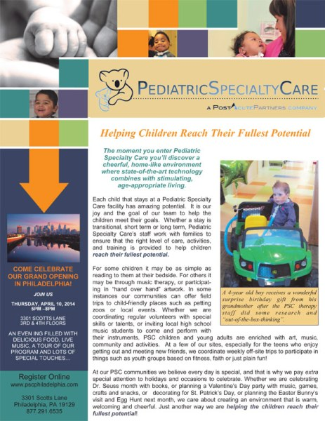Pediatric Specialty Care, PA