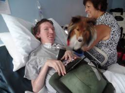 Therapy Dog July 2015