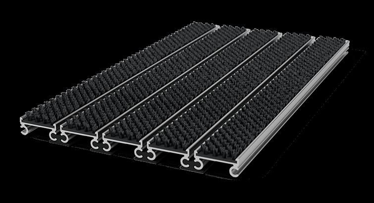 tapis entree aluminium professionnel et