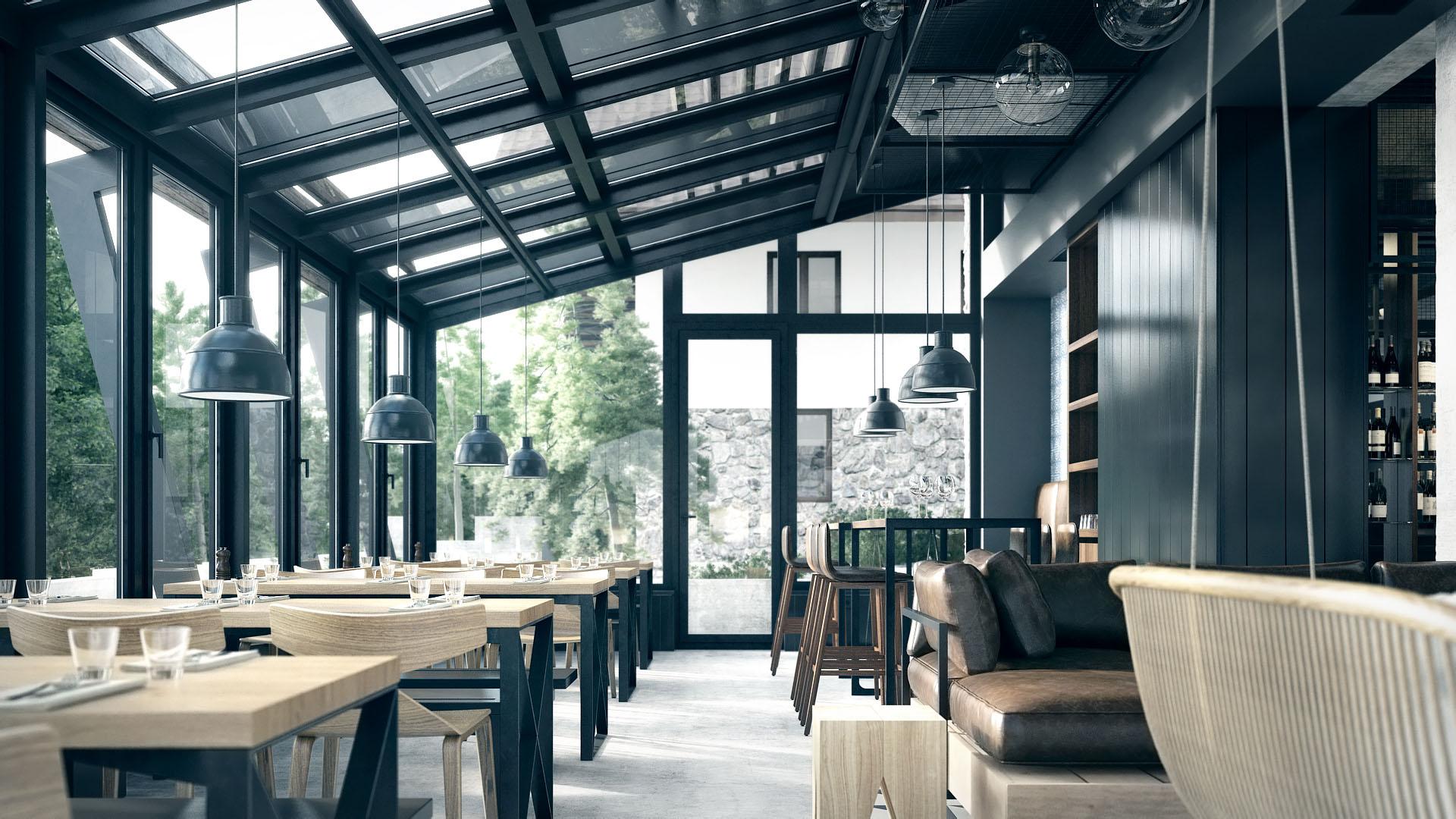 Pedjapetkovic Mountain Hotel Restaurant Interior