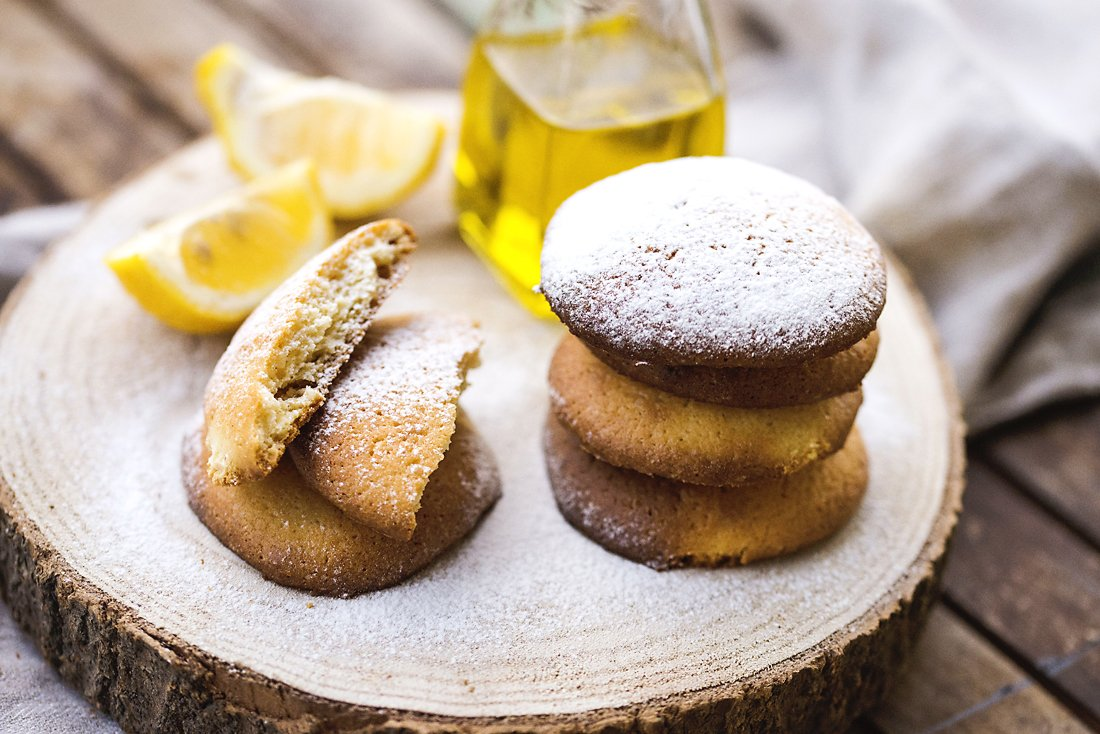 Olive Oil Biscuits