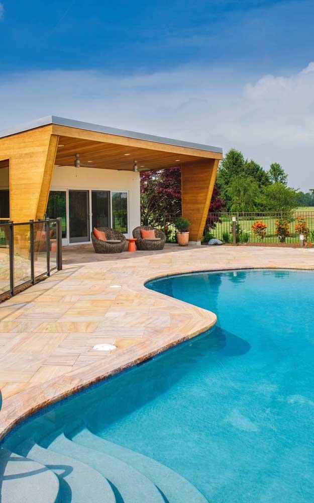 Pedra para piscina