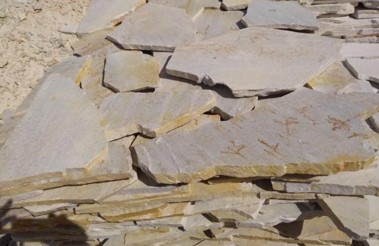 A pedra São Tomé pode quebrar com facilidade