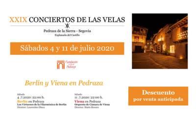 CONCIERTOS DE LAS VELAS 2020 – ENTRADAS YA A LA VENTA