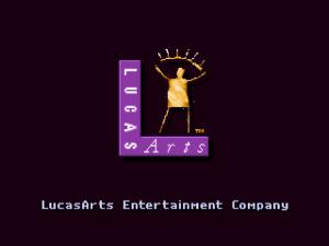 """Autori už ako """"Lucas Arts"""", predchádzajúci diel vydávali ešte ako """"Lucasfilm Games"""""""