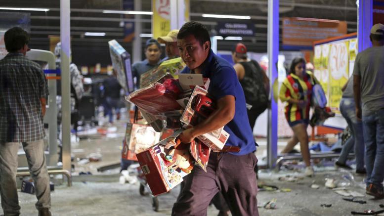 Pérdidas por saqueos en México ascienden a 90 millones - Pérdidas por saqueos en México ascienden a $90 millones